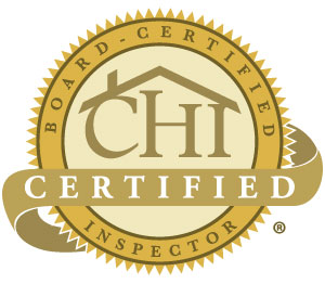 CHI certified home inspector